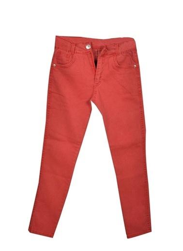 Boomkids 8/12 Yaş Renkli Likralı Garson Kız Pantolon Kız Çocuk Giyim Yeşil